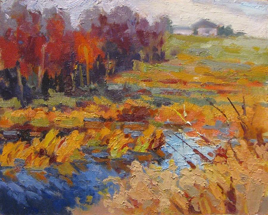 """Water's Edge"" original fine art by Laura Gable"