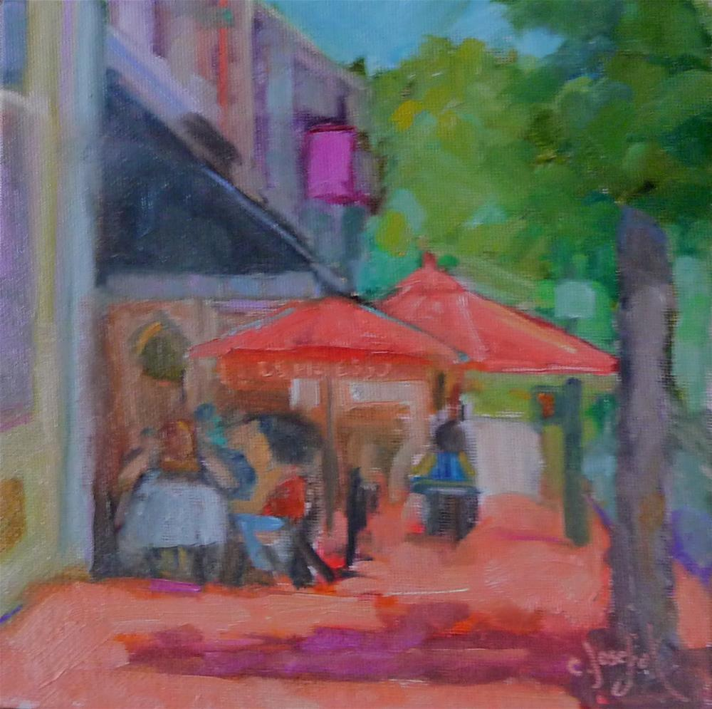 """La Pettit"" original fine art by Carol Josefiak"