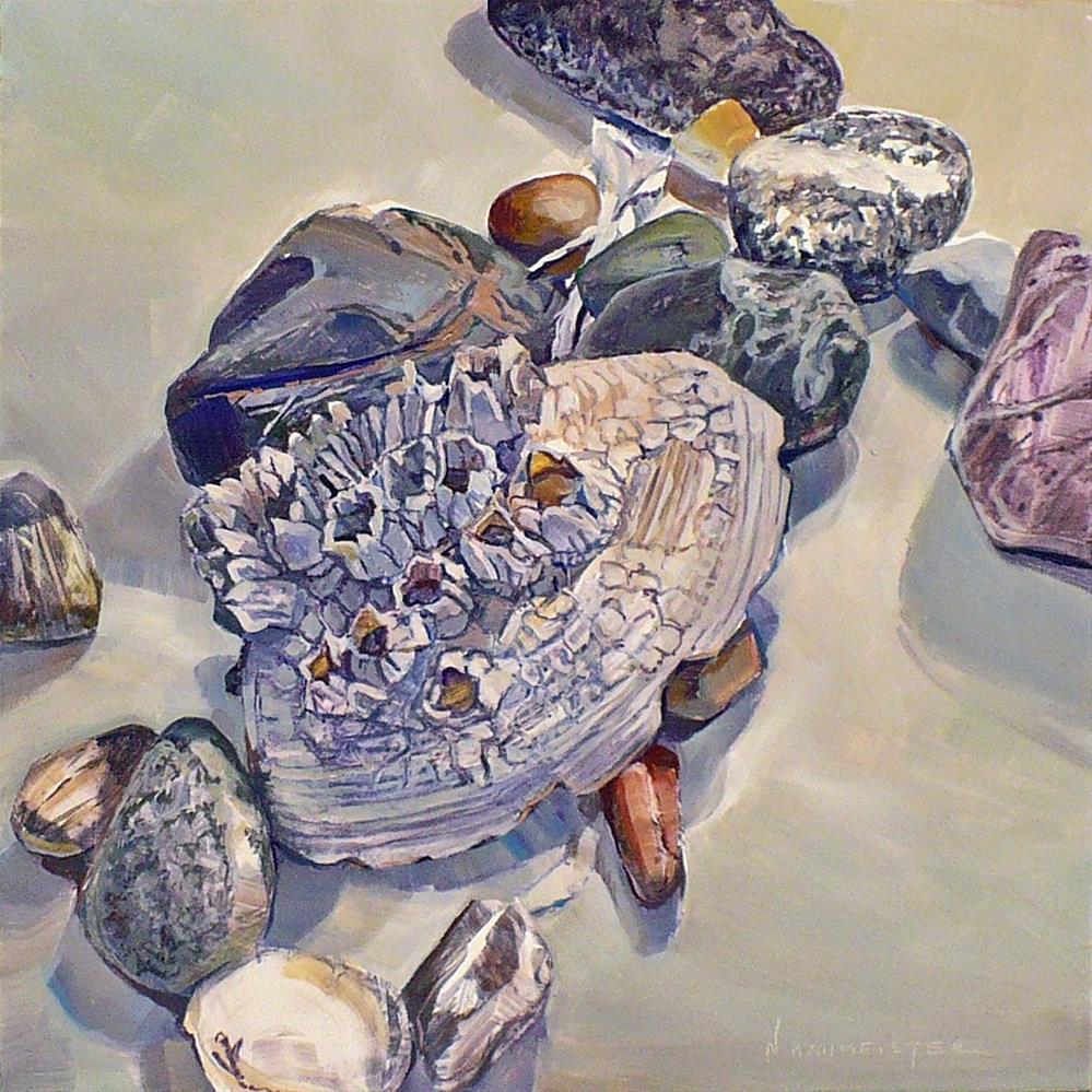 """""""Beaches: My friends collection"""" original fine art by Nicoletta Baumeister"""