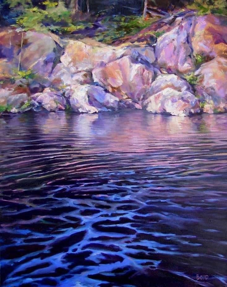 """Ordinary Miracle"" original fine art by Cathy Boyd"