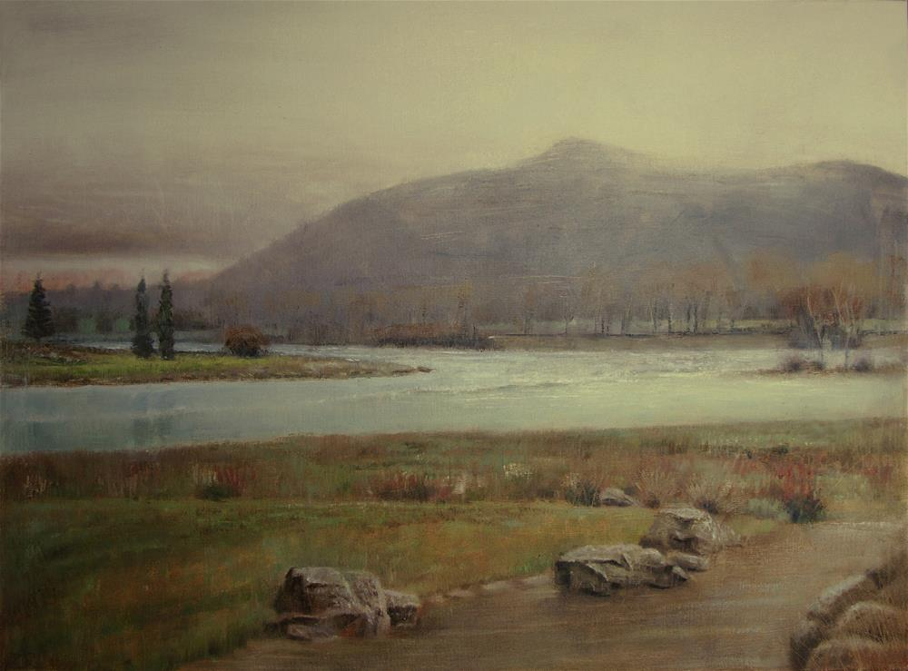 """New Zealand"" original fine art by Zoran Rnjak"