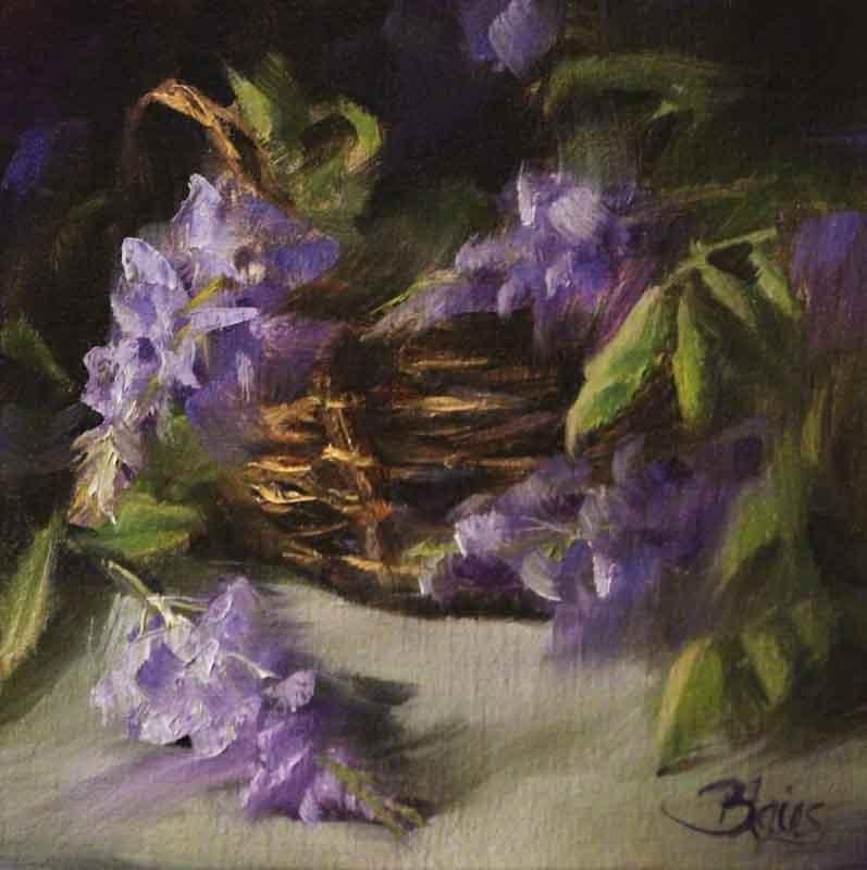 """Late Bloomers"" original fine art by Pamela Blaies"
