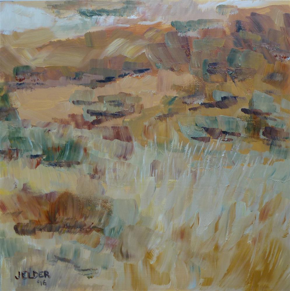 """Colors of the Waterville Plateau"" original fine art by Judith Elder"