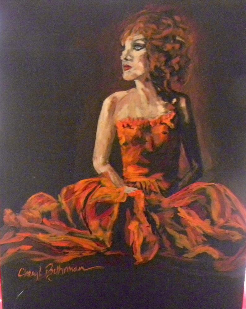 """After The Dance"" original fine art by cheryl buhrman"
