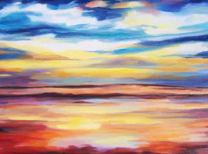 """""""Awakening"""" original fine art by Nava Judith"""