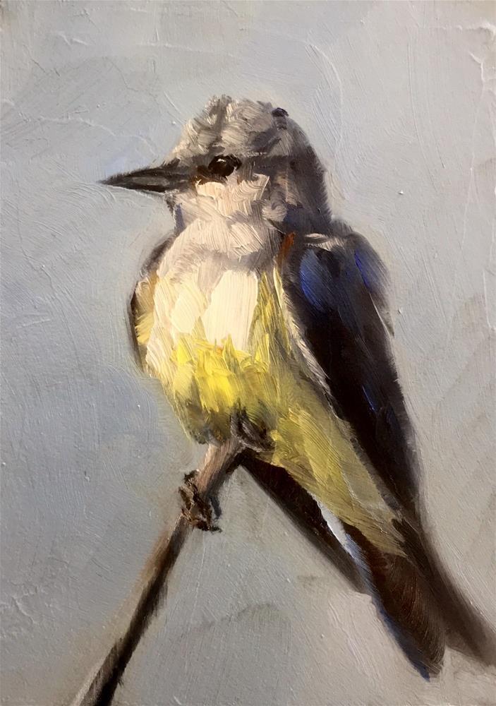 """""""Kingbird"""" original fine art by Gary Bruton"""