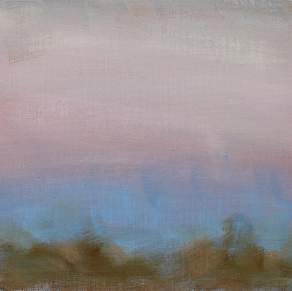 """Winter Sunset 07"" original fine art by Scott Serafica"
