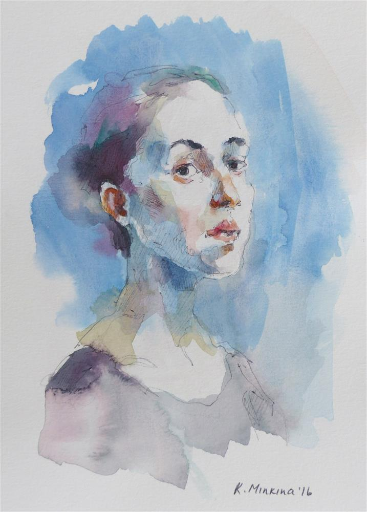"""sketchbook#28"" original fine art by Katya Minkina"