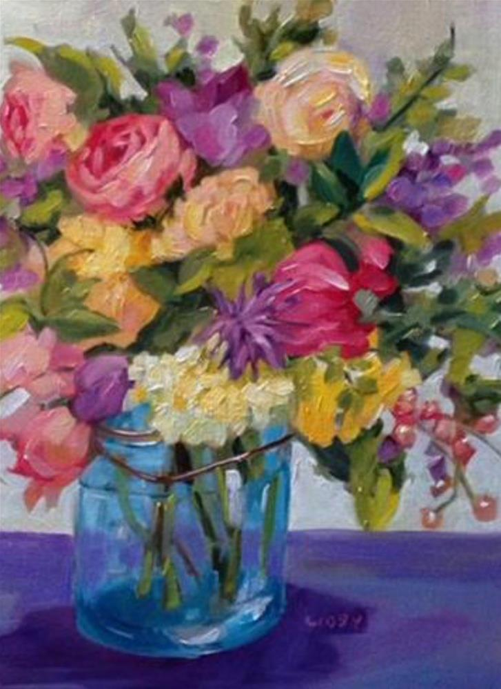 """""""Remembered Places"""" original fine art by Libby Anderson"""
