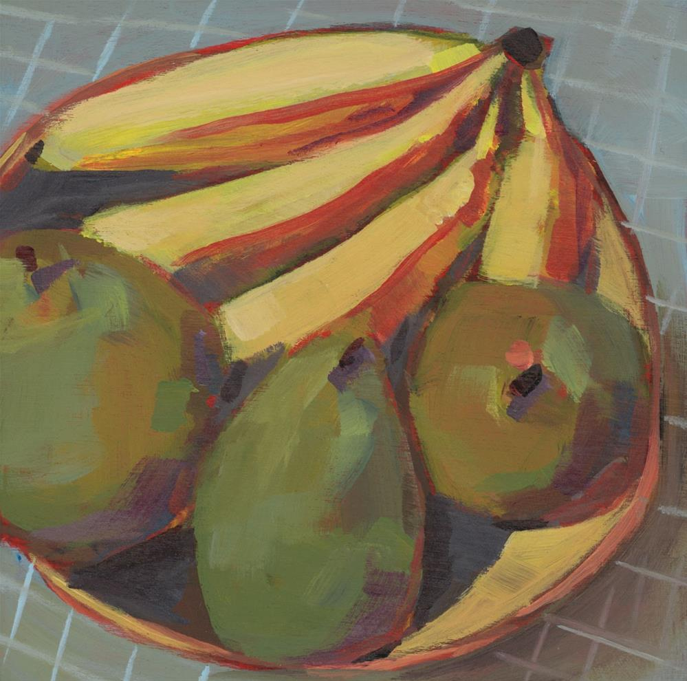 """0928: We Start with Fruit"" original fine art by Brian Miller"
