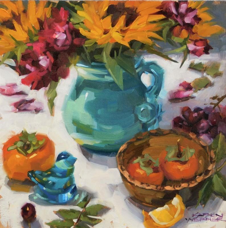 """""""Goodness"""" original fine art by Karen Werner"""