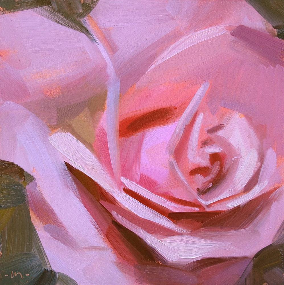 """Pink Power"" original fine art by Carol Marine"