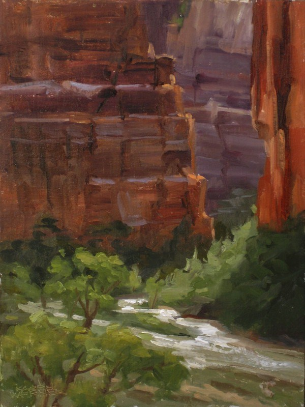 """Big Bend"" original fine art by Karen Werner"