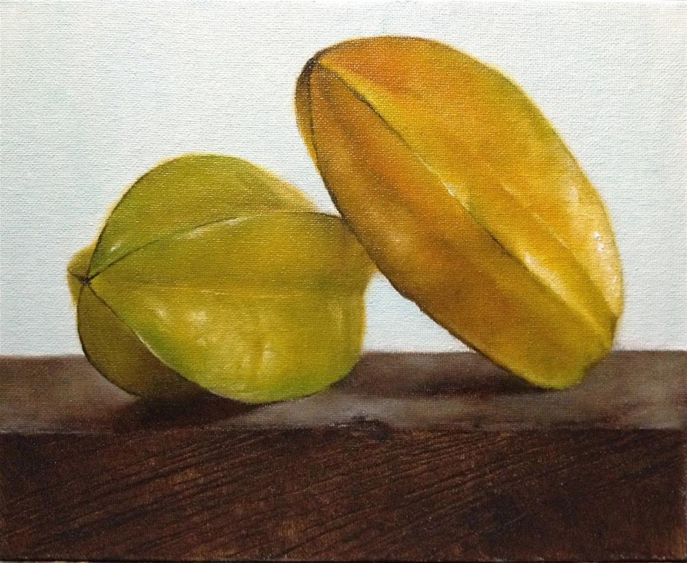 """Star Fruits"" original fine art by Jonathan Aller"