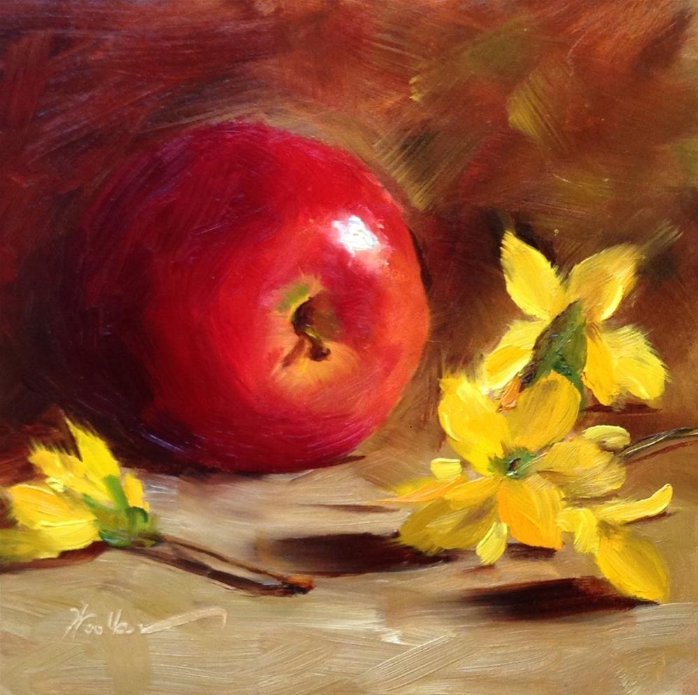 """""""Gala Beauty"""" original fine art by Dorothy Woolbright"""