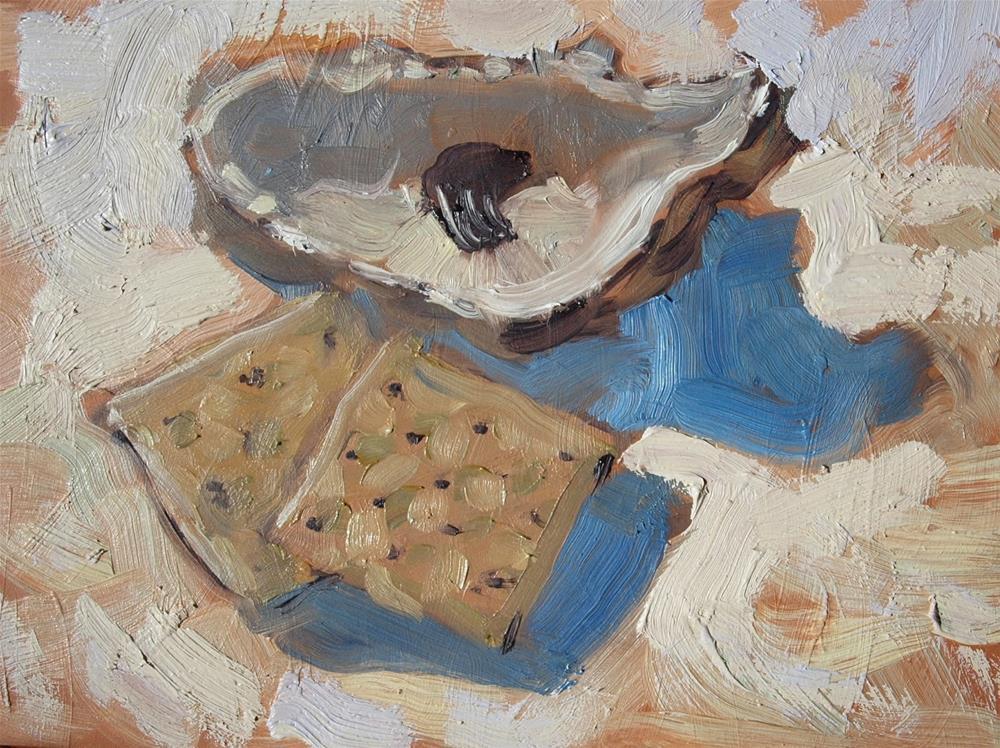 """""""Oyster Cracker"""" original fine art by Rick Nilson"""