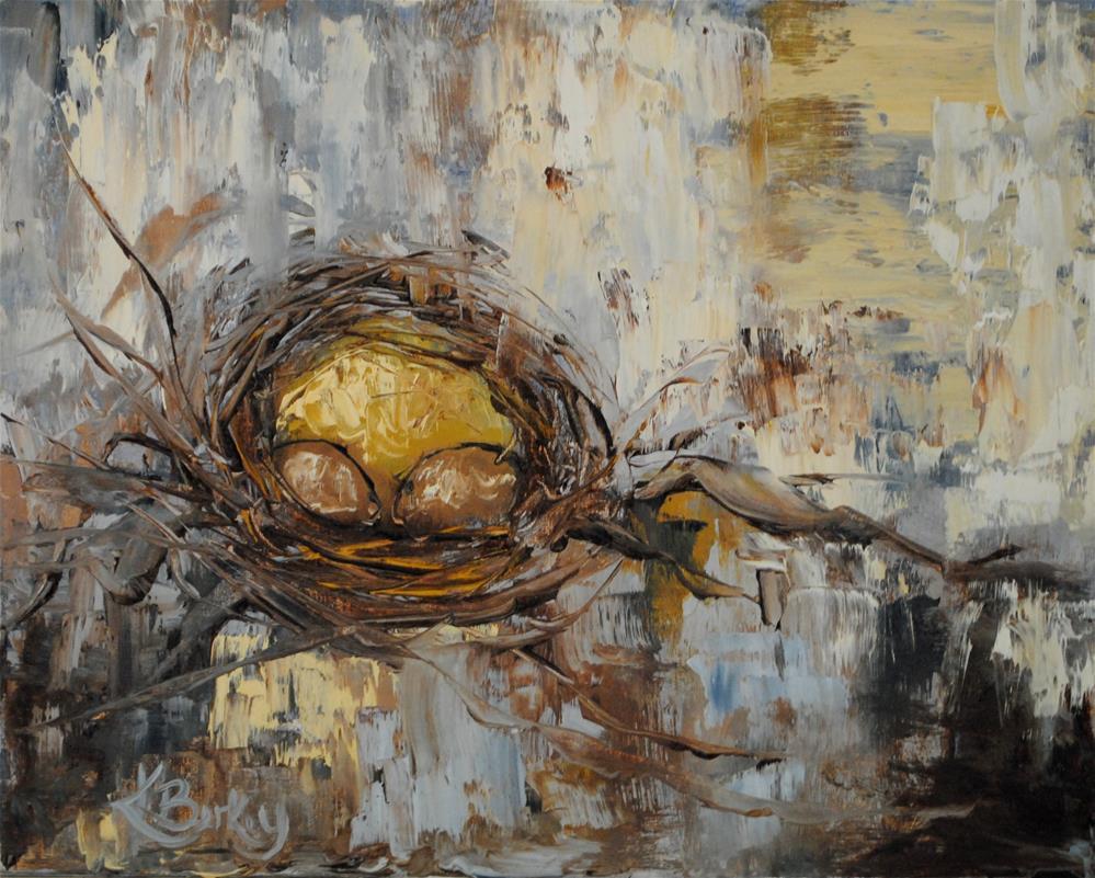 """Mama of Two"" original fine art by Kelly Berkey"