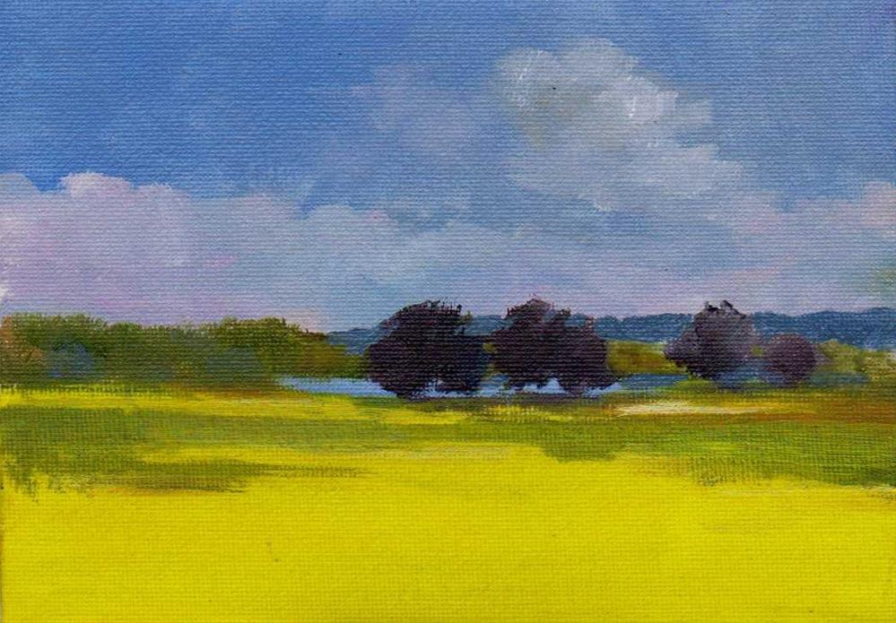 """sunny"" original fine art by Mark DeBak"