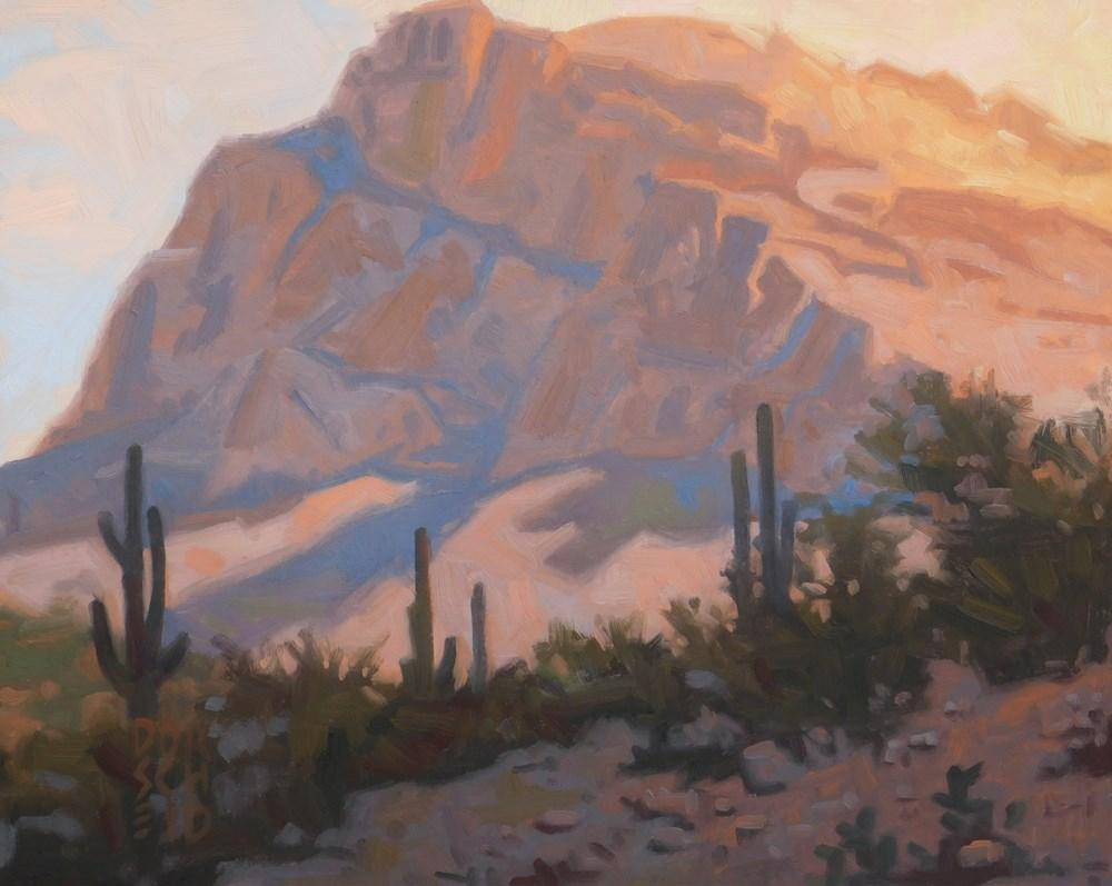 """Arizona View"" original fine art by Les Dorscheid"