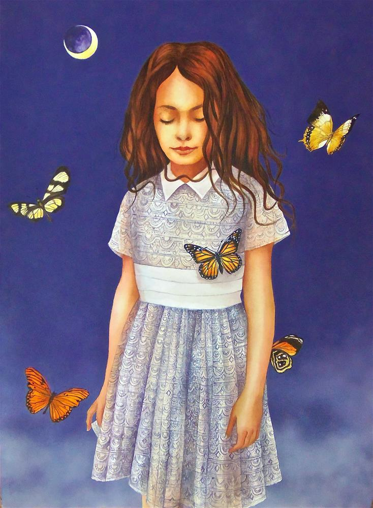 """Mariposas"" original fine art by Susan Santiago"