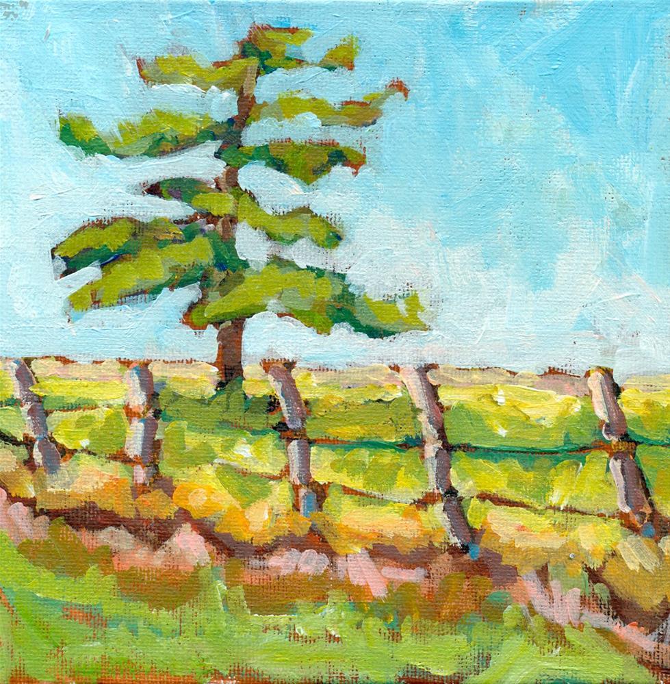 """""""Tree gesture challenge"""" original fine art by Shelley Garries"""