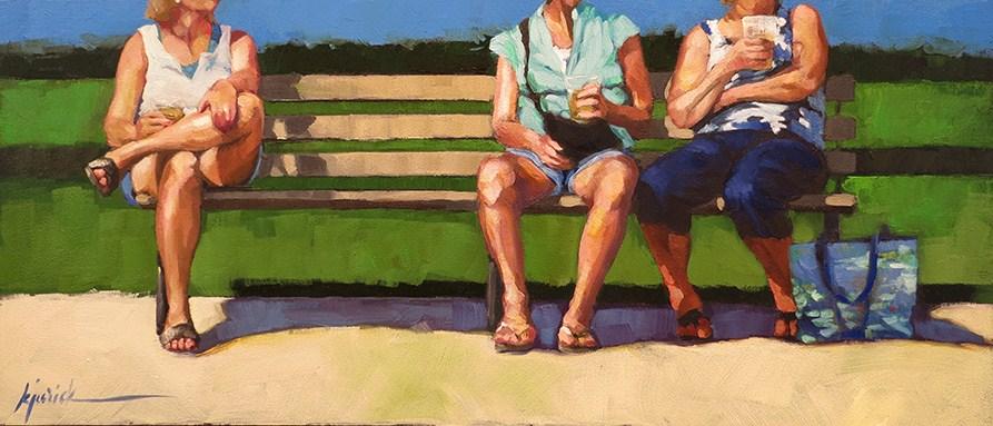 """'Brewskies'"" original fine art by Karin Jurick"