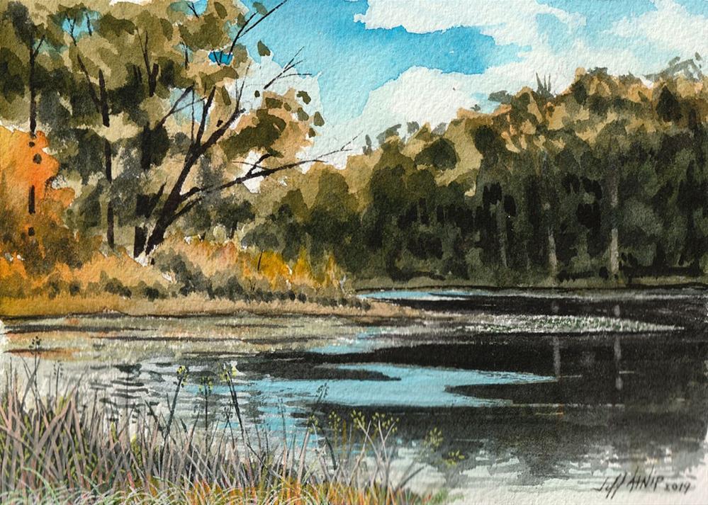 """Knob Noster View"" original fine art by Jeff Atnip"