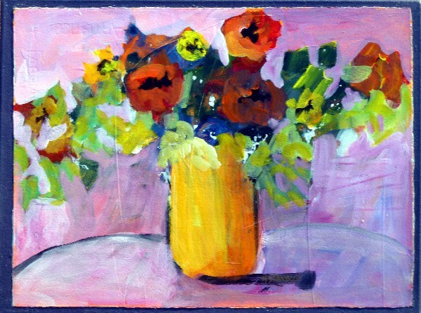 """Poppies 13033"" original fine art by Nancy Standlee"