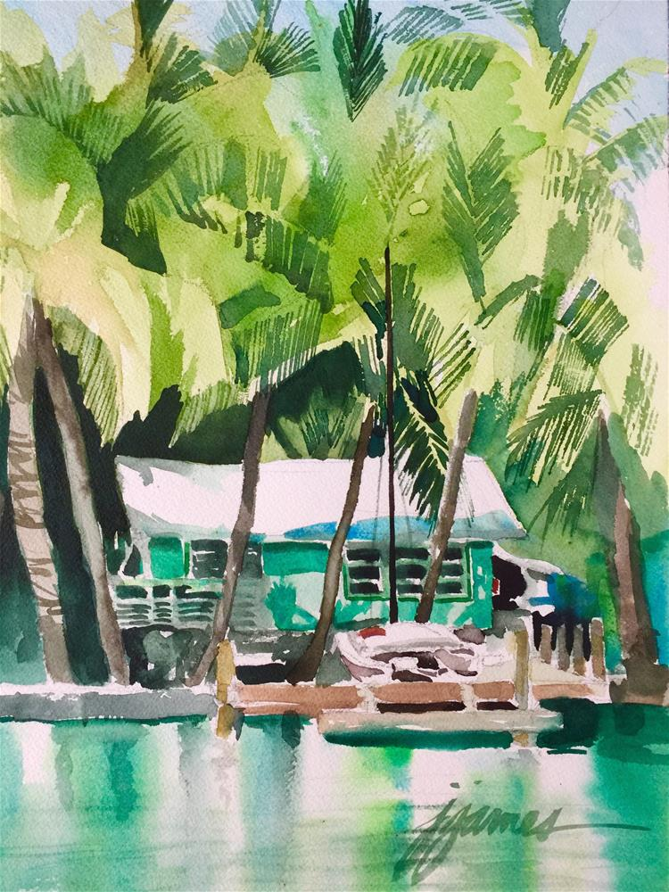 """""""More from the Keys"""" original fine art by Jini James"""