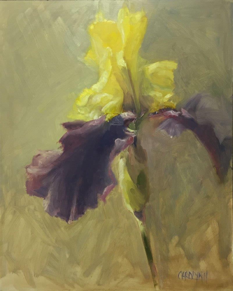 """Standing Alone 2"" original fine art by Carolynn Doan"