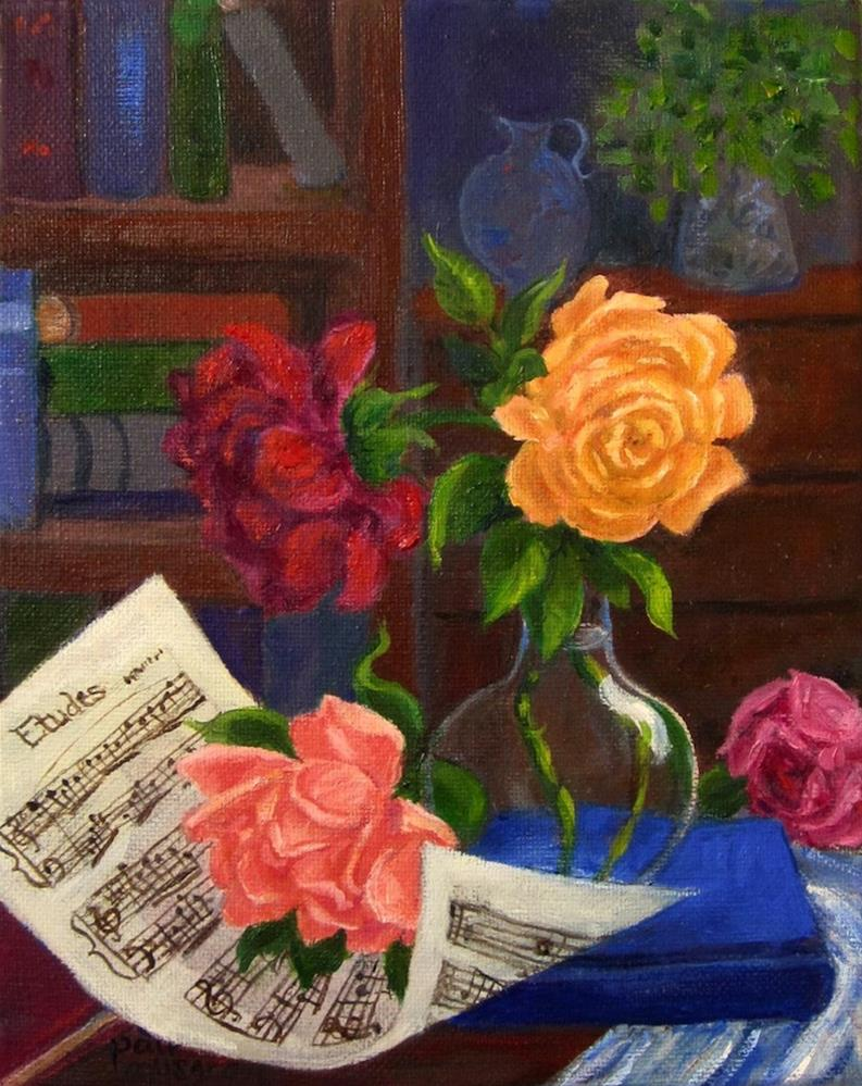 """Etude"" original fine art by Patricia Musgrave"