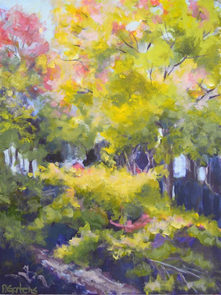 """Autumn's Peak"" original fine art by Pamela Gatens"