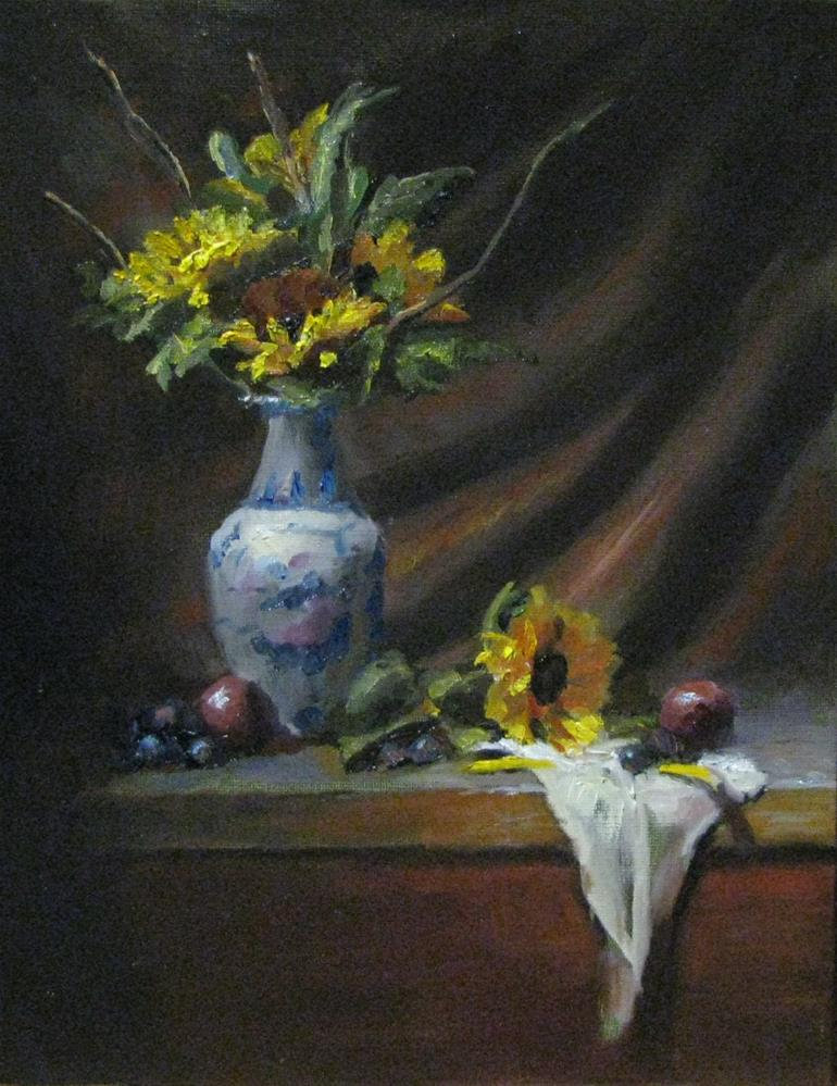 """Light upon things"" original fine art by tom dawson"