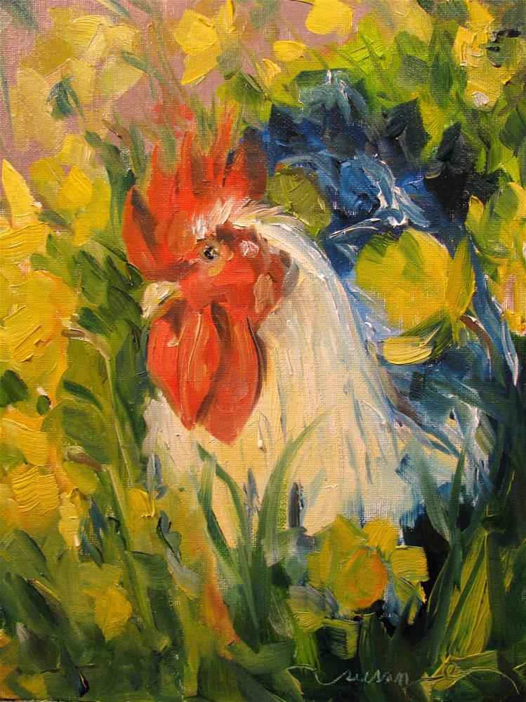 """Searching the Sun"" original fine art by Susan Elizabeth Jones"