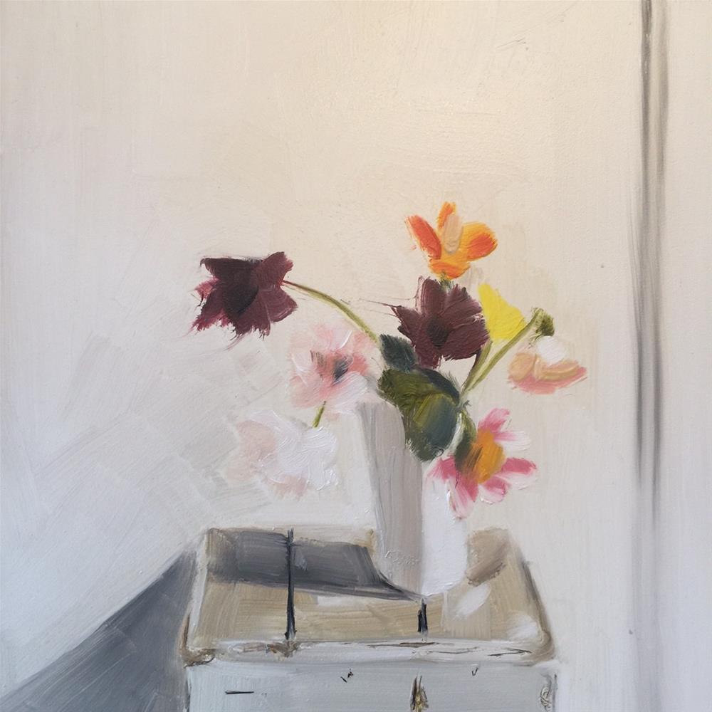 """353 Wildflowers"" original fine art by Jenny Doh"
