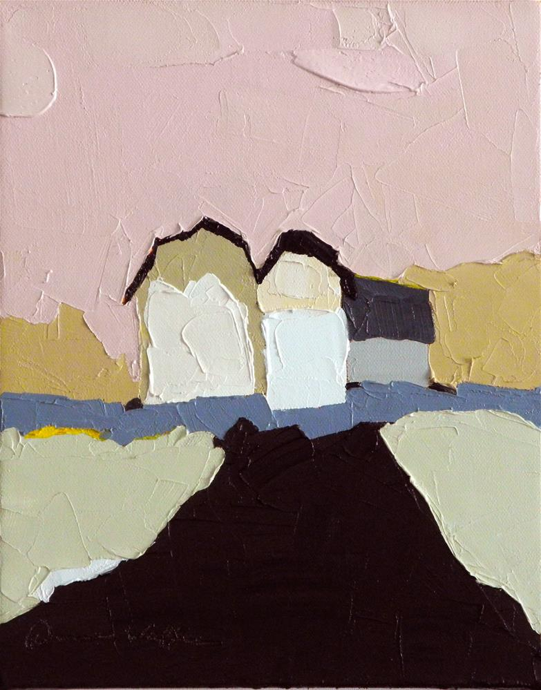 """A Country Lane"" original fine art by Donna Walker"