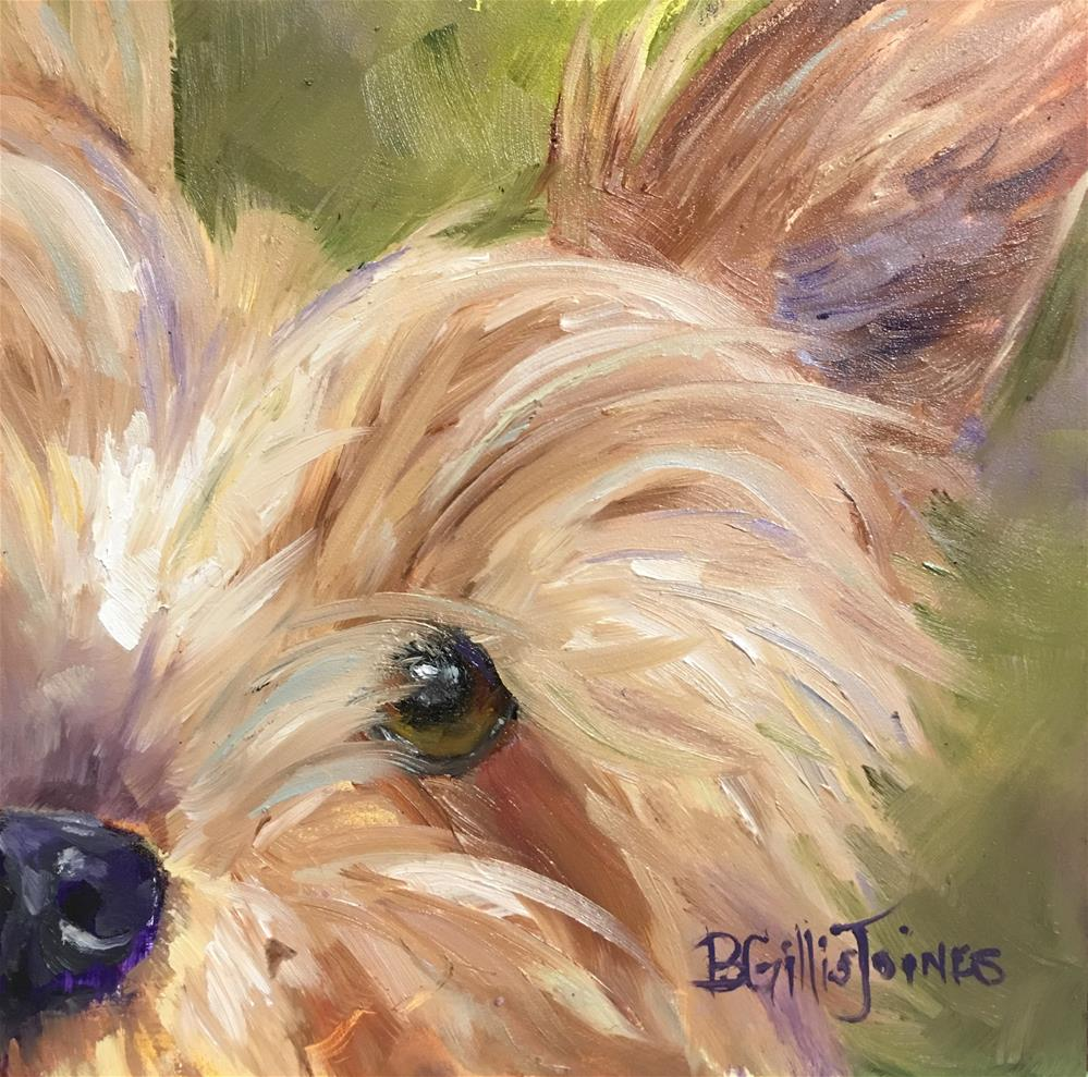 """Close Up"" original fine art by Barbara Gillis Joines"