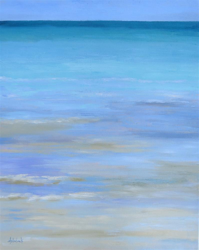 """""""There Is A Magic About The Sea"""" original fine art by Pam Holnback"""