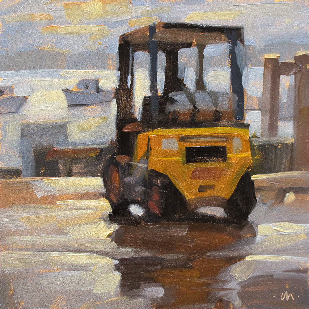 """After the Rain"" original fine art by Carol Marine"