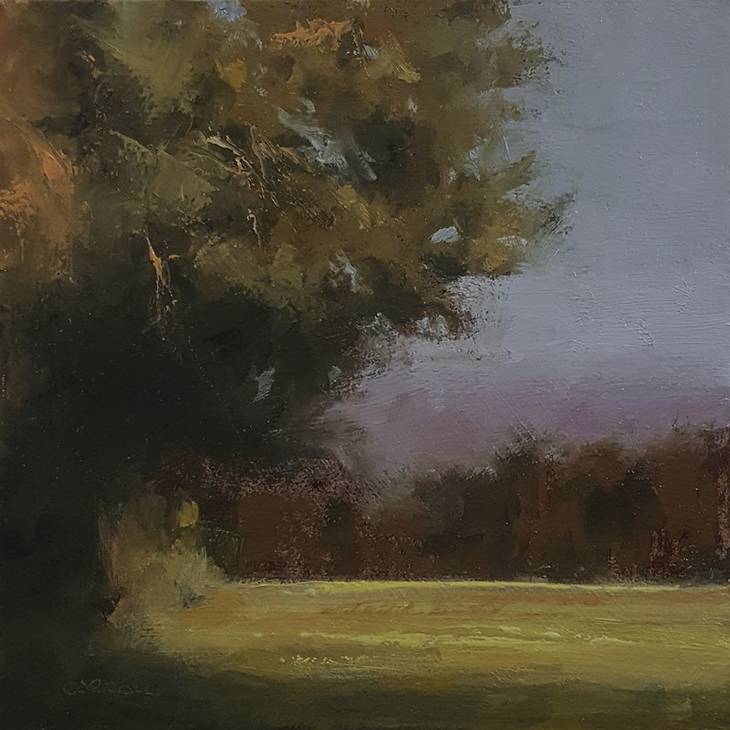 """Late Afternoon"" original fine art by Neil Carroll"