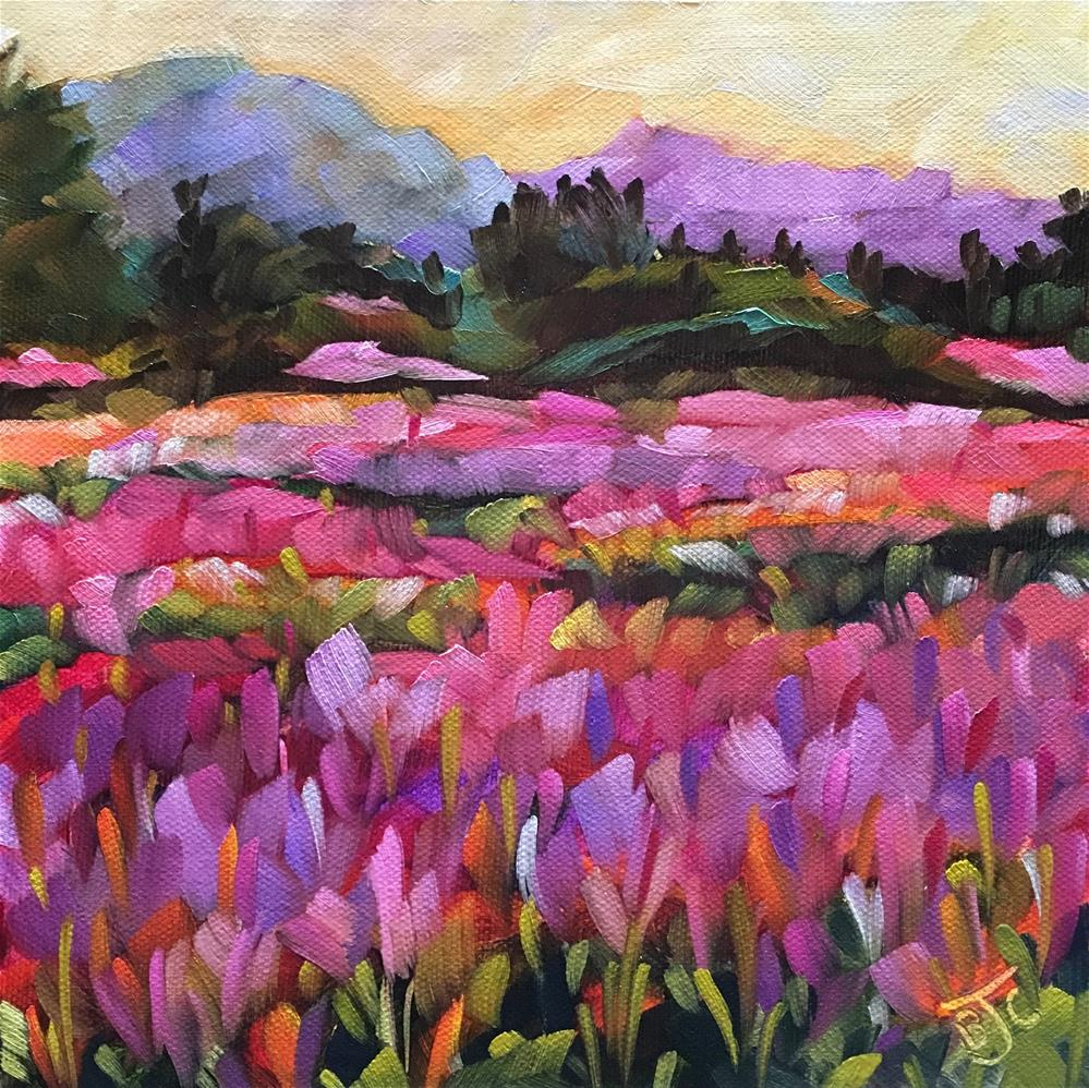 """""""The Magic of Fireweed"""" original fine art by Bobbie Cook"""