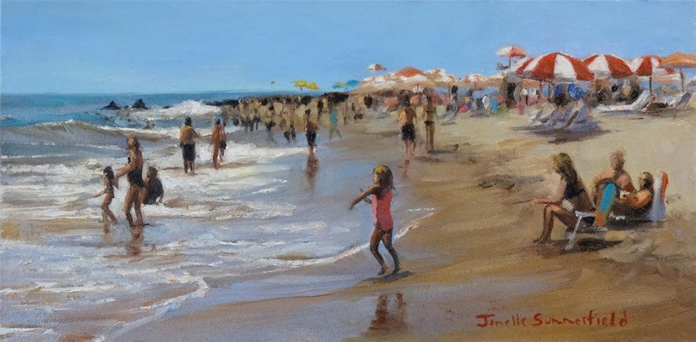 """Cape May Shore V"" original fine art by Jonelle Summerfield"