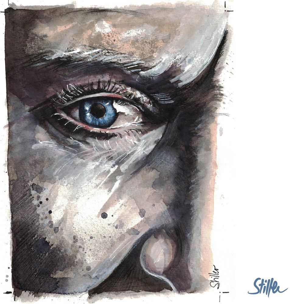 """""""3549 Eye Sight"""" original fine art by Dietmar Stiller"""