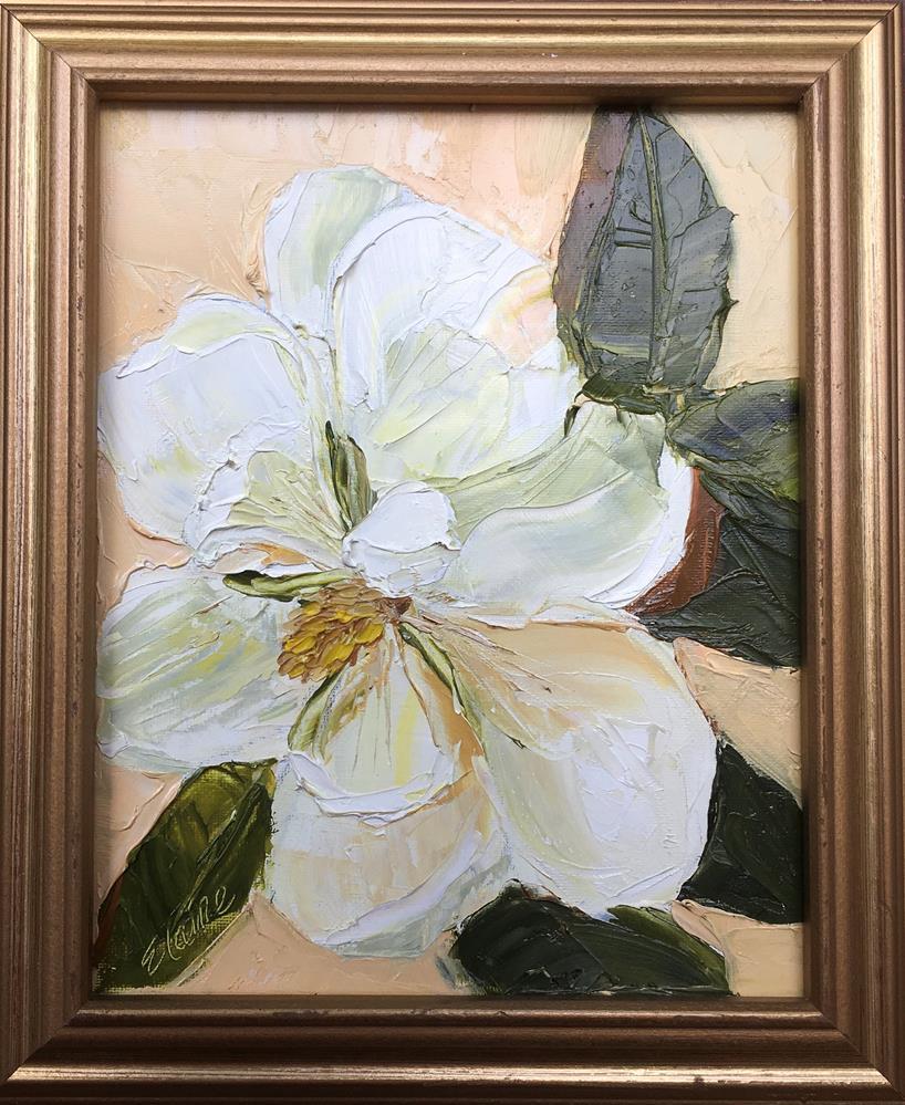 """""""Posing Magnolia"""" original fine art by Elaine Ford"""