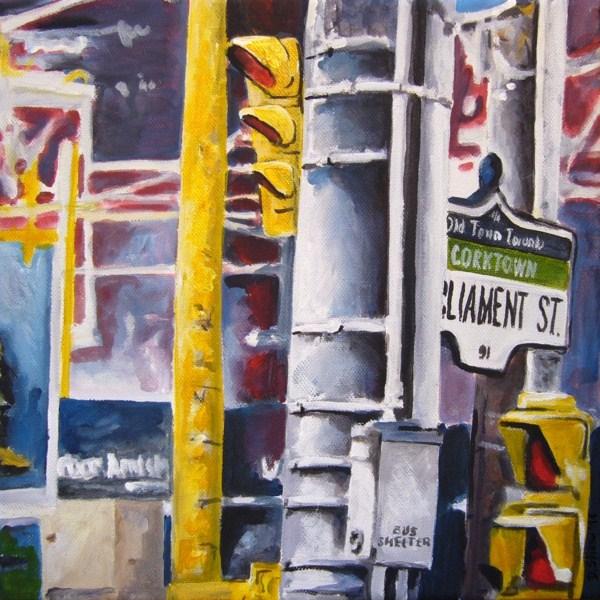 """""""0041 Parliament Street"""" original fine art by Dietmar Stiller"""