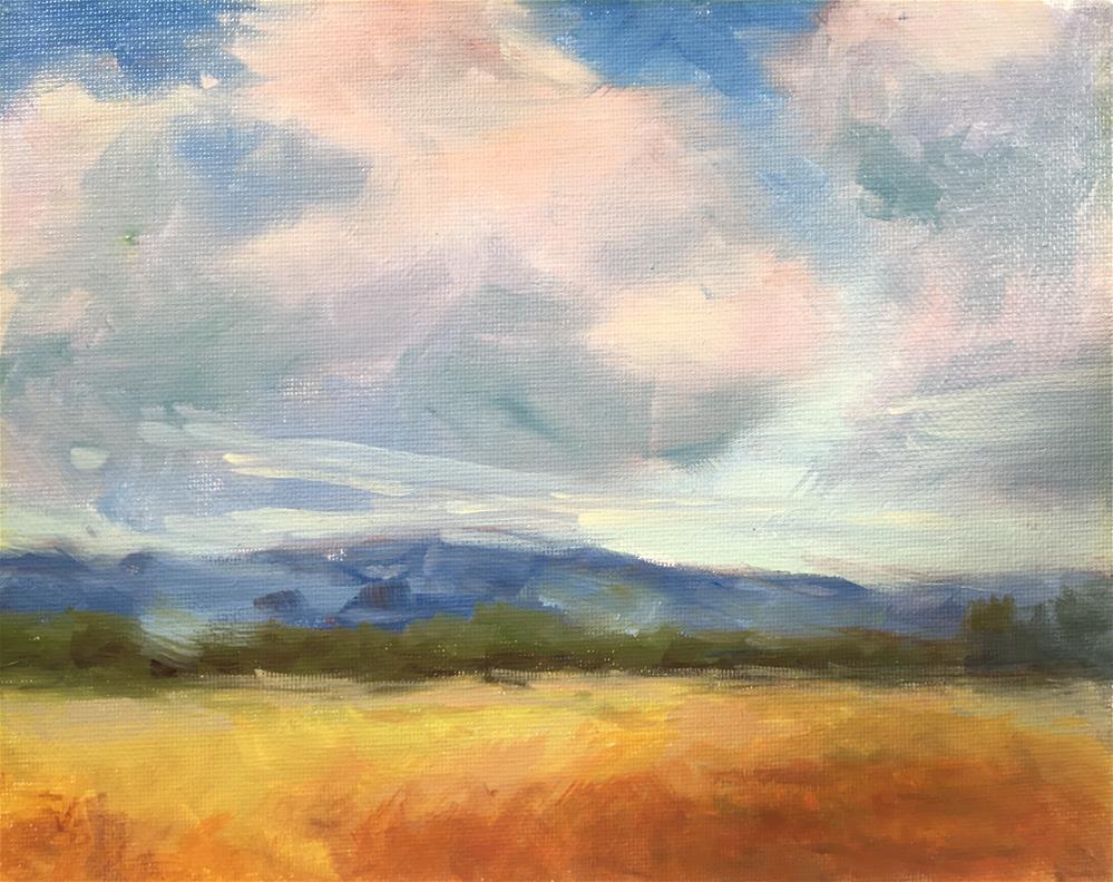"""""""Looking Westward"""" original fine art by Victoria  Biedron"""