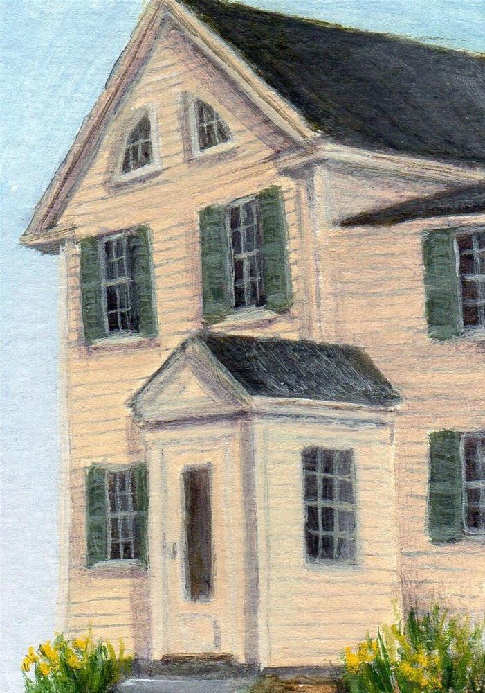 """Informed"" original fine art by Debbie Shirley"