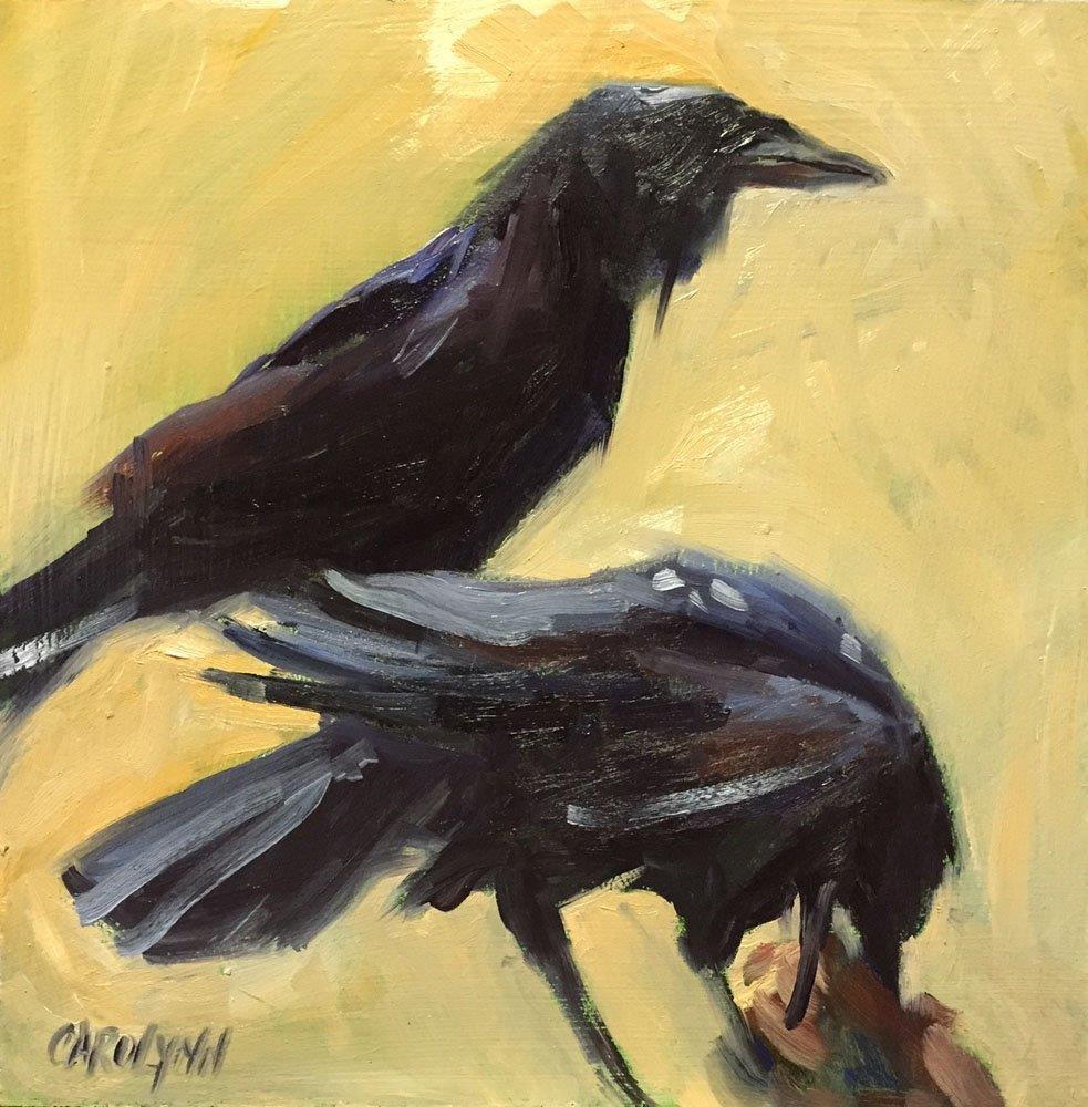 """Two Is A Pair"" original fine art by Carolynn Doan"