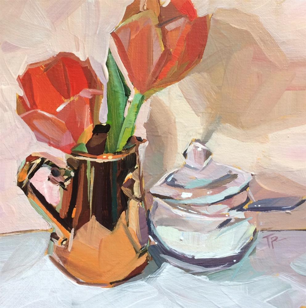 """Sugar 'Lips"" original fine art by Teddi Parker"