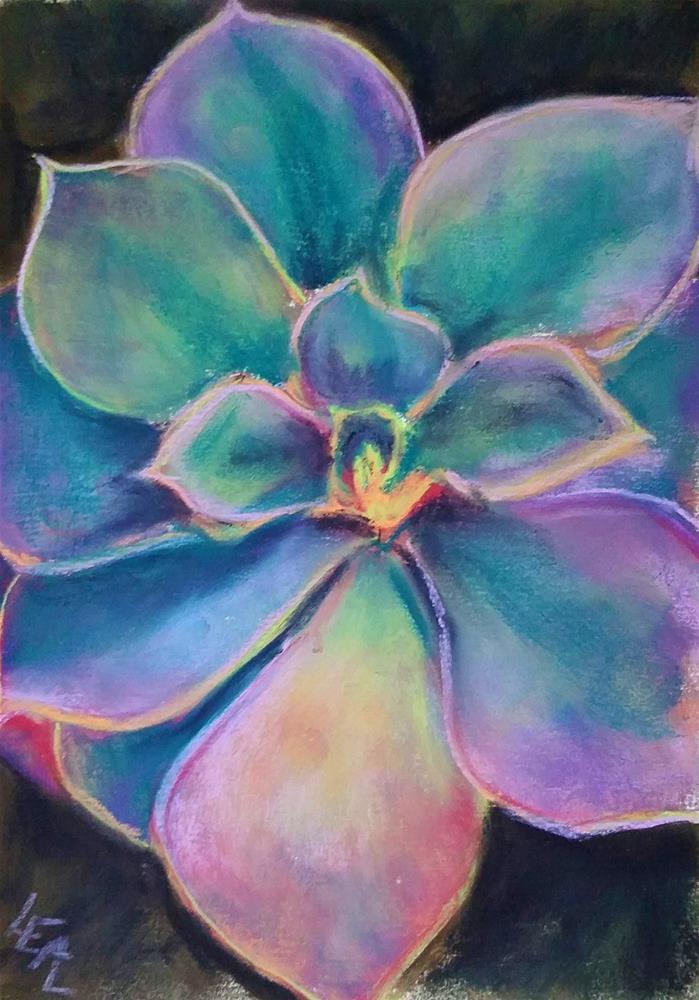 """Desert Rose"" original fine art by Anna Lisa Leal"